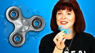 People Try Fidget Spinners For The First Time