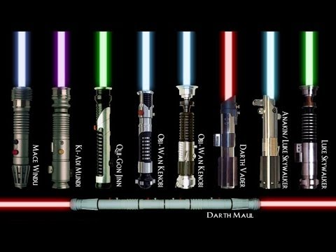What Color Lightsaber Would You Wield? (Just for Fun!)