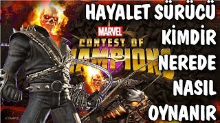 MARVEL CONTEST OF CHAMPIONS GHOST RIDER - MCOC