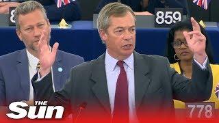 Nigel Farage causes chaos by slamming von der Leyen's 'communist' vision