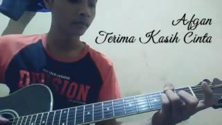 Afgan-Terimakasih cinta (cover) by Arisoed #gitar