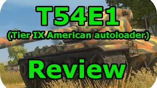 T54E1 review (Tier IX American autoloader) (World of Tanks Xbox)