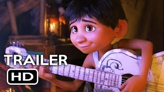 Coco Trailer #1 (2017) Gael García Bernal Disney Pixar Animated Movie