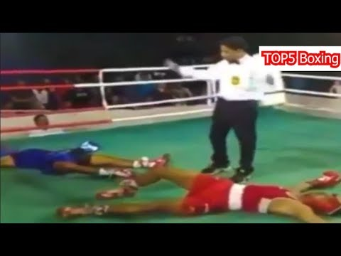 Boxing Knockouts And Funny Moments