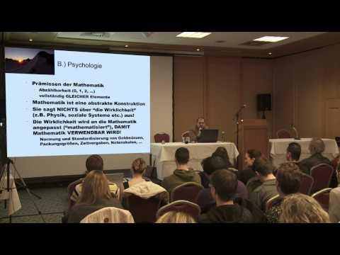 Neues Wissen Gesellschaft Franz Hörmann Vortrag ZDay 2012