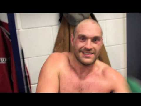 TYSON FURY OUTCLASSES CHRISTIAN HAMMER TO CLAIM TKO WIN @ THE O2 - POST FIGHT INTERVIEW FOR IFL TV