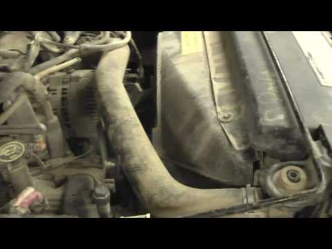 Ford F-150 Coolant Hose Replacement and Flush