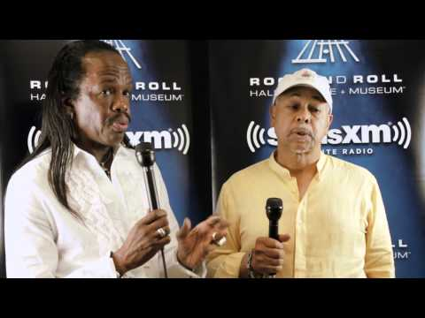 Verdine White and Ralph Johnson of Earth, Wind & Fire