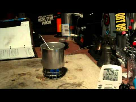 DIY Hot beverage cook set  Boil Test #4 - Reloaded