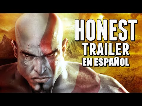 GOD OF WAR (Honest Game Trailer en Español)