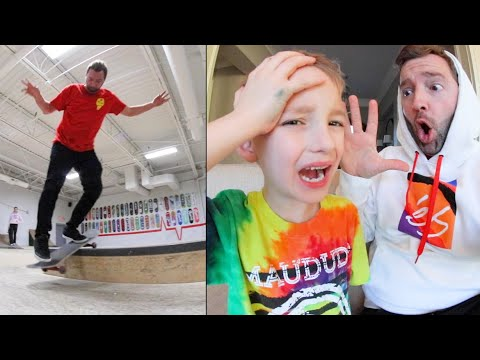 ADIML 74: DAD MISTAKES! / Skate Trip Time