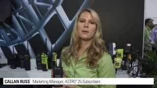 Motorola Solutions' APX 1000 Two-way Radios at IWCE 2014