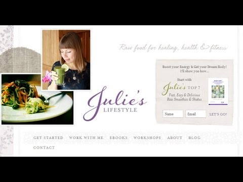 JuliesLifestyle.com, Julie Van den Kerchove - Interview