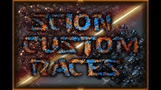 Livecasting StarCraft 2 Custom Races Tournament!  [Scion Custom Races]