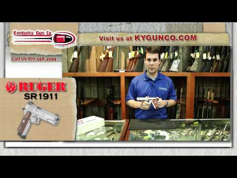 Ruger SR1911 Review and Range Test