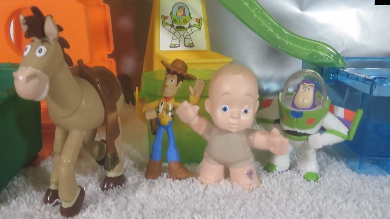Toy Story Playground : Toy story slide n surprise playground playset pixar color