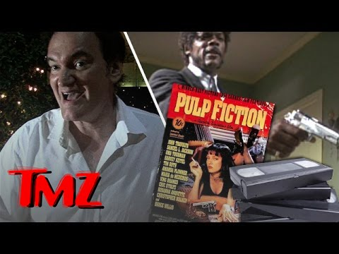 It's crazy that Quentin Tarantino still watches VHS!
