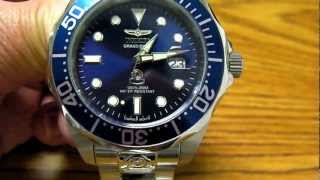 Invicta Grand Diver 3045 Automatic Watch with Seiko NH35A Movement