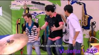 Violetta-Andres, Leon und Napo singen Dile que si