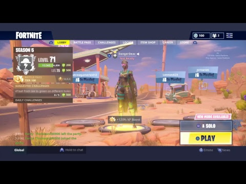 Fortnite Battle Royale New Ravage Skin Out Now GRINDING thumbnail