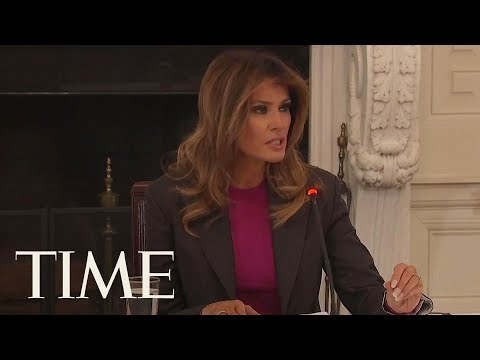 Melania Trump Is 'Well Aware' Of The Criticism Over Her Anti-Cyberbullying Campaign | TIME