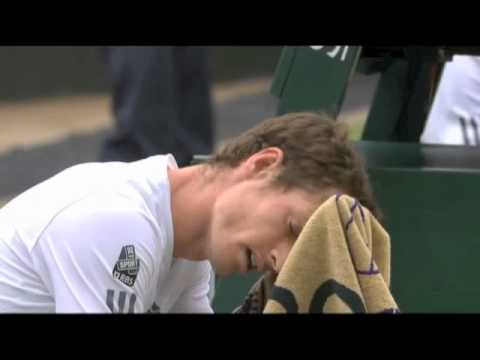 Andy Murray Swearing v Fernando Verdasco Wimbledon 03/07/2013