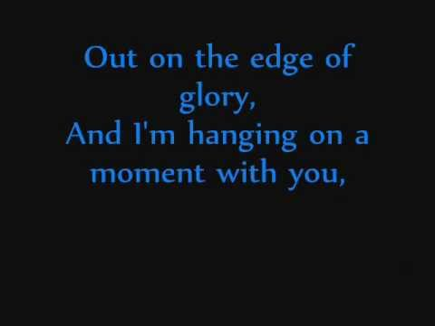 Edge Of Glory - Lady Gaga (Lyrics)