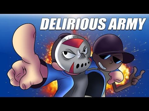 DELIRIOUS ARMY - Animated Music Video! By The Spaceman Chaos