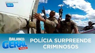 Polícia surpreende criminosos para libertar homens sequestrados