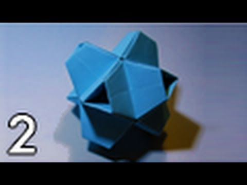 Origami Truncated Stellated Octahedron (Folding Instructions) ~Part Two~
