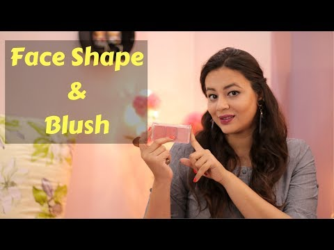 4 Ways to apply Blush according to Face Shape    Blusher Technique for Different Face Shape
