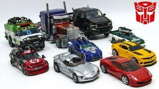 Transformers 3 Autobot OptimusPrime Bumblebee Sideswipe Dino Ratchet Ironhide Wreckers Car Robot Toy