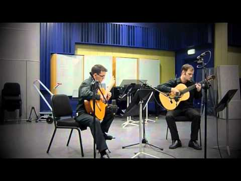 Cork Guitar Duo performing Milonga de Junio by Maximo Diego Pujol