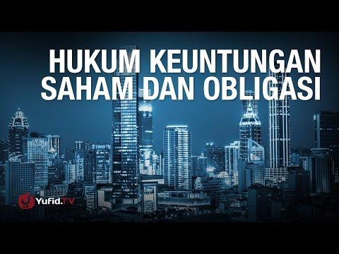 Konsultasi Syariah: Hukum Keuntungan Saham dan Obligasi - Ustadz Abdul Barr Kaisinda