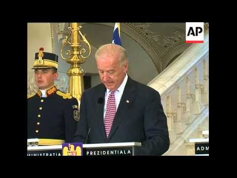 US Vice President Biden meets President  Basescu