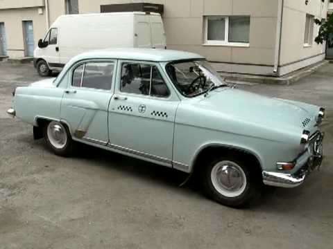 Volga GAZ 21 - most famous russian cab