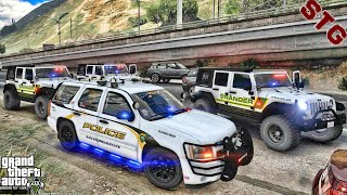 SAN ANDREAS STATE PATROL PACK!!!| #89 (GTA 5 REAL LIFE PC POLICE MOD) TAHOE