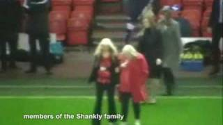 Bill Shankly 50 years tribute night (Liverpool v Wigan Athletic 2009)