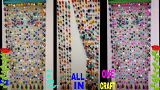 AWASOME DOOR LONG HANGING TORAN RESMI THRUD ll WOOLEN POM POM ll VERY EASY STEP AT HOME ll BEAUTIFUL