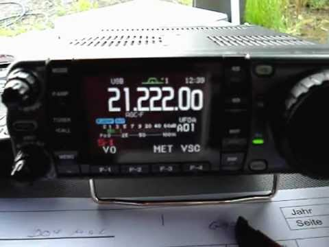 ICOM IC-7000 beim Fieldday DOK O15 am 12.06.2010