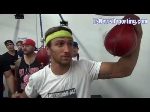 Boxing Champ Vasyl Lomachenko AMAZING TALENT Exclusive Footage - esnews