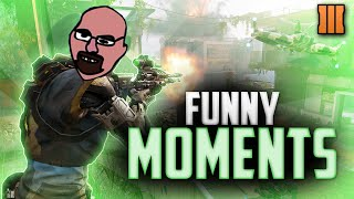 Bo3 Funny Moments- PIZZA ROLLS, SCREEN GLITCH, and DAVED VONDERHAAR!