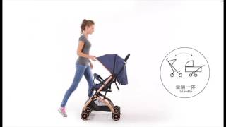 Tobby QZ1 Pocket Stroller (Portable)