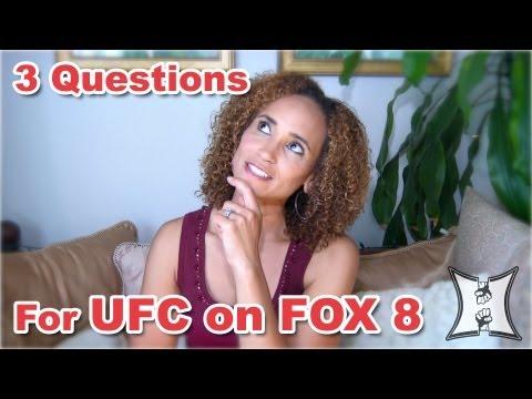 MMA HEAT Fan Feedback 3 Questions for UFC On FOX 8