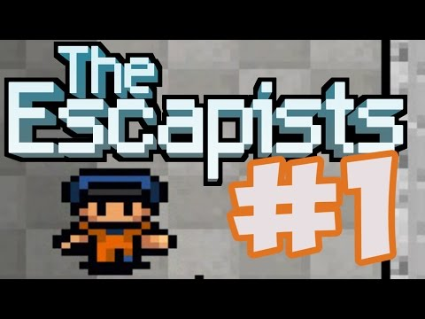 Let's Play The Escapists # 1 !!! ( West Georgia Correctional )