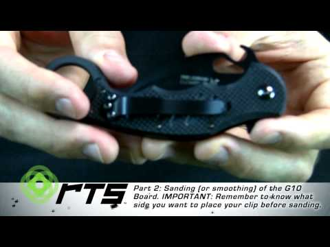 FOX Karambit Knife Tips and Tricks Video - Watch it NOW !!!