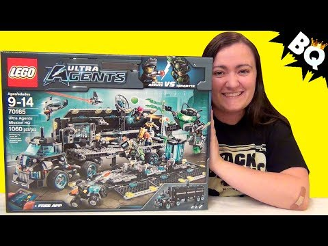 LEGO Ultra Agents Misson HQ 70165 Build & Review