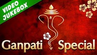 Superhit Ganpati Marathi Songs 2016 - Morya Morya   Tuch Mazhi Aai Deva   मराठी गाणी