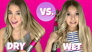 DYSON AIRWRAP COMPLETE! | Hairstyles for girls! | QUINN SISTERS