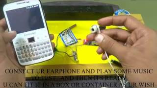 WIRELESS BLUETOOTH EARPHONE EASY DIY HOMEMADE
